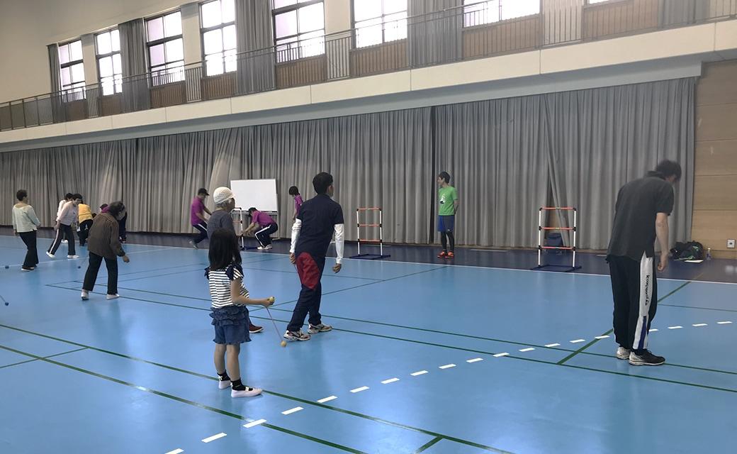 ふれあいニュースポーツ教室