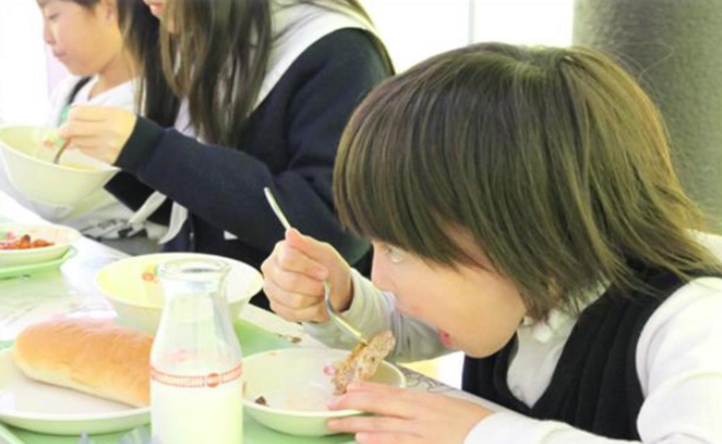 市立学校の学校給食